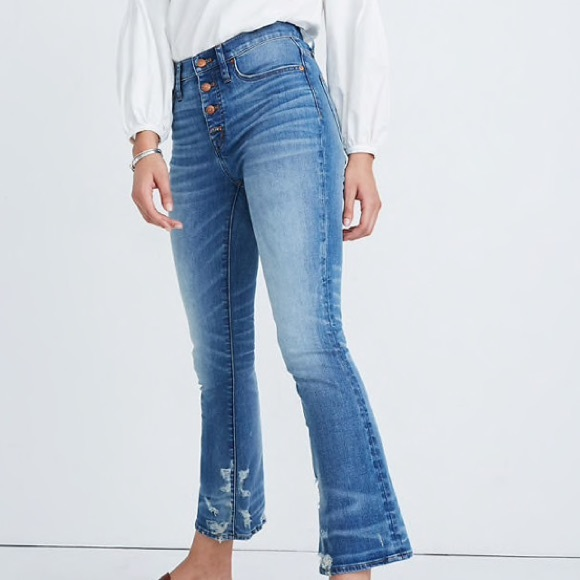 Madewell Denim - Madewell Cali Demi-Boot Jeans - Bess Wash (Petite)